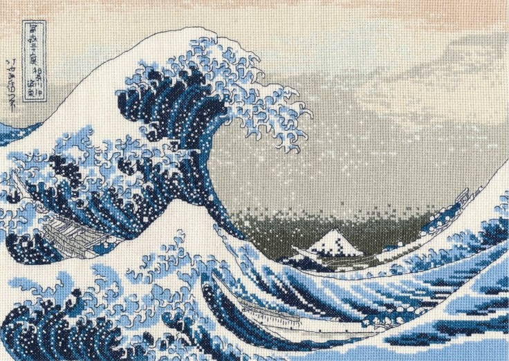 BL1145/73 The Great Wave (DMC)