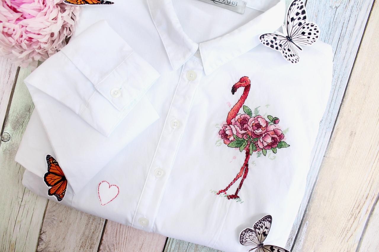 Вышивка на футболках — идеальное решение