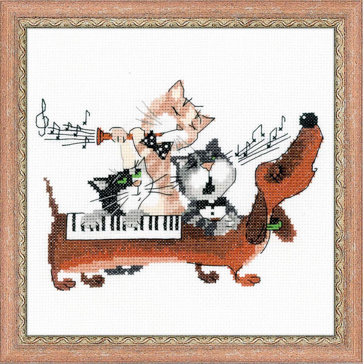 Музыкальные открытки схема