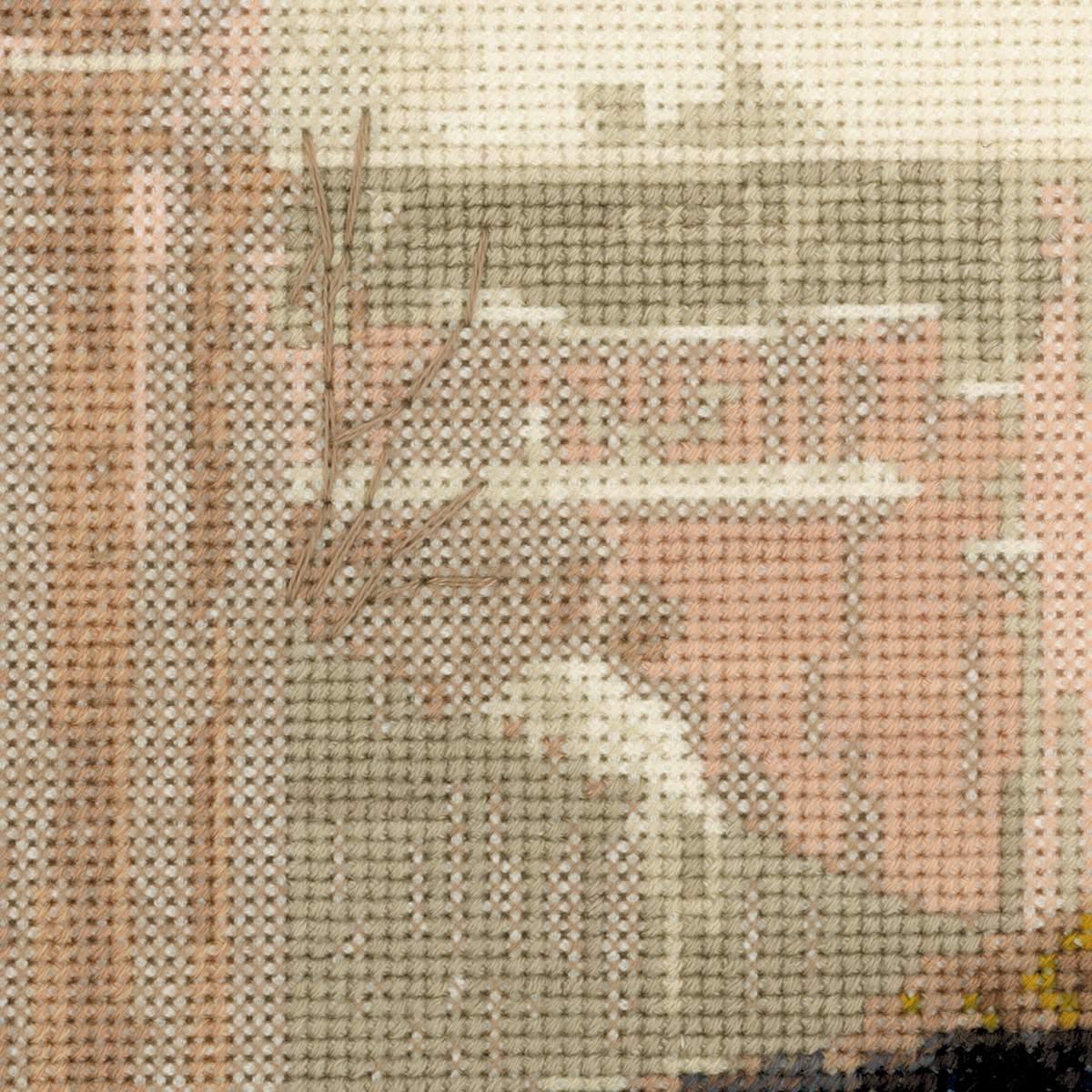 Схему для вышивки картины незнакомка