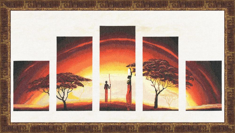 Схема вышивки на закате золотое руно