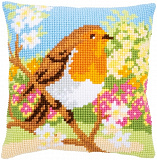 PN-0164299 Robin in the garden (Vervaco)