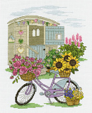 BK1549 Flowery Bicycle (DMC)