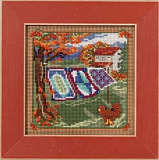 "MH14-1621 ""Country Quilts"" (Mill Hill)"